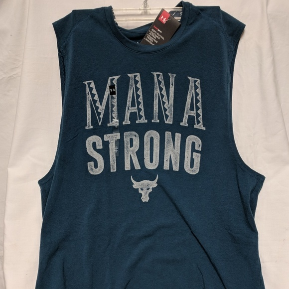 Under Armour Men UA Project MANA SHIRT TANK  Small L Xl SOLD OUT YELLOW